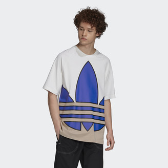 adidas Big Trefoil Colorblock Tee