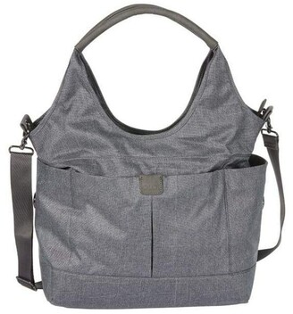OiOi Tote Slouch Nappy Bag - Denim Grey (7028) Grey