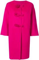 Ermanno Scervino floral detail coat