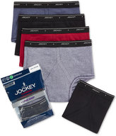 Jockey 4 Pack Cotton Full Rise Briefs +1 Bonus Pair