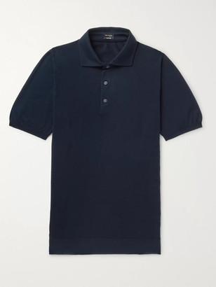 Kiton Slim-Fit Cotton Polo Shirt