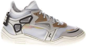 Lanvin Diving Mid-top Neoprene Sneakers