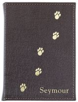 Graphic Image Personalized Pebbled Leather Pet Photo Album