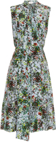 Erdem Richelle Field Flower-print sleeveless dress