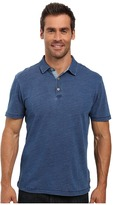 True Grit Genuine Indigo Knit Short Sleeve Polo