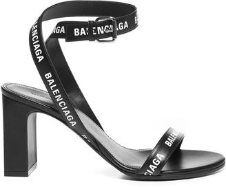 Balenciaga Logo Strap Sandals