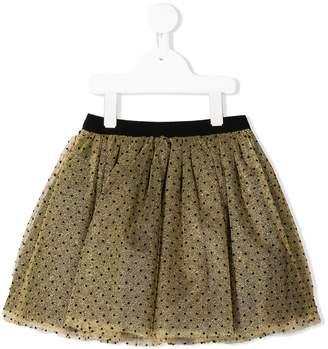 Bonpoint polka dot tulle skirt