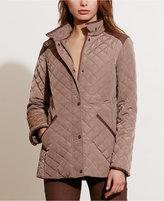Lauren Ralph Lauren Diamond-Quilted Jacket, Only at Macy's