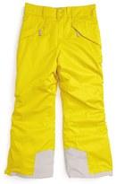 Patagonia 'Snowshot' Insulated Snow Pants (Big Boys)