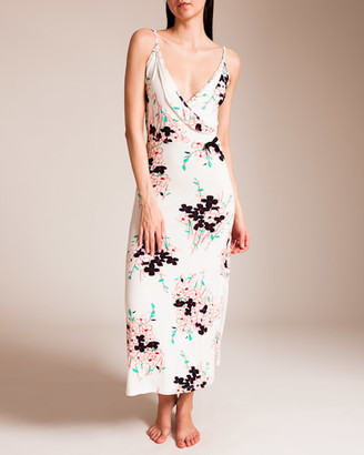 Grazia'Lliani Series C Long Wrap Gown