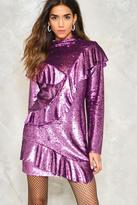 Nasty Gal nastygal Love is a Battlefield Ruffle Dress