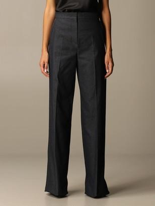 Max Mara Ernesta High-waisted Denim Trousers