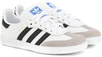 Adidas Originals Kids Samba OG leather sneakers
