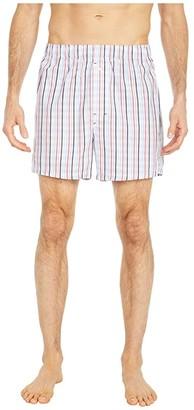 Tommy Bahama Woven Boxers (Stripe Plaid) Men's Underwear