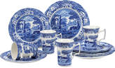 Spode Dinnerware, Blue Italian 12-Piece Set, Service for 4