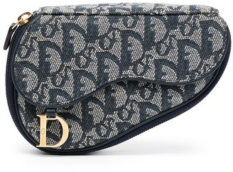 Christian Dior pre-owned Trotter Saddle pouch