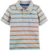 Carter's Rainbow Stripe Cotton Polo, Little Boys & Big Boys