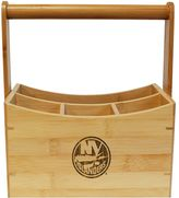 New York Islanders Bamboo Utensil Caddy