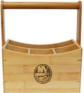 New York Islanders Bamboo Utensil Caddy