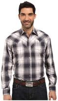Stetson Grand Ombre Long Sleeve Woven Snap Shirt