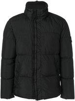Stone Island high collar padded jacket