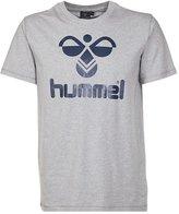 Hummel Classic Bee Print Tshirt Grey Melange