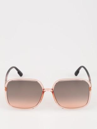 Christian Dior Square Oversize Sunglasses