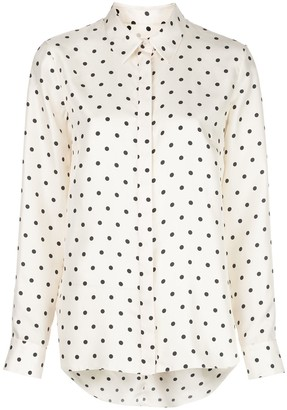 Adam Lippes Polka Dot Print Shirt