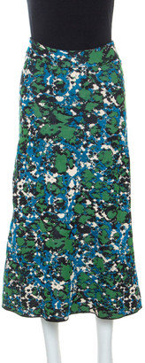 M Missoni Multicolor Jacquard Knit A Line Skirt M