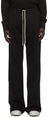Rick Owens Black Pusher Lounge Pants