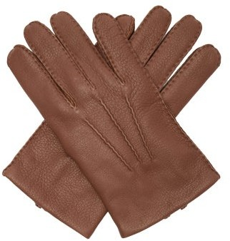 Dents Cambridge Leather Gloves - Brown