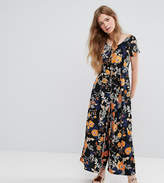 Monki Bold Floral Wide Leg Jumpsuit