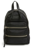 Marc Jacobs 'Mini Biker' Nylon Backpack - Black