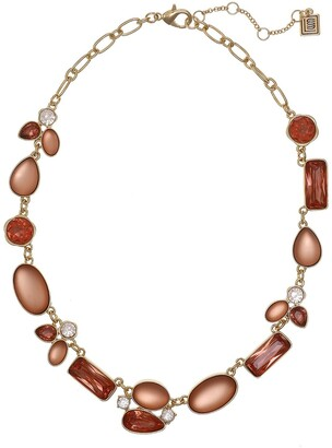 Laundry by Shelli Segal Gold-Tone Short Collar Necklace