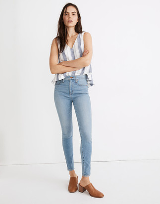 "Madewell Tall 10"" High-Rise Skinny Jeans in Annapolis Wash"