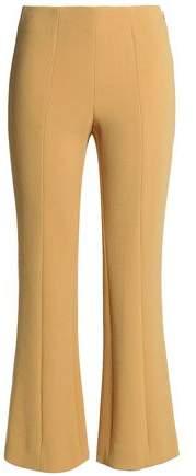 Sonia Rykiel Cropped Wool-Blend Bootcut Pants