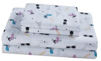 Your Zone Ants in Paris Soft Wrinkle Resistant Microfiber Sheet Set