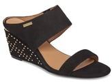 Calvin Klein Women's Phyllis Studded Wedge Sandal