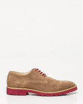 Le Château Suede Lace-Up Oxford