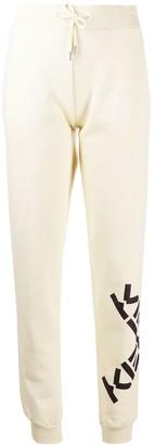 Kenzo Logo Print Track Pants