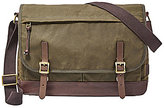 Fossil Defender Canvas Laptop Messenger Bag