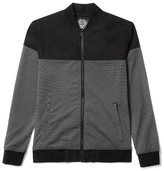 Vince Camuto Mixed-Media Zip-Up Jacket