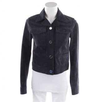 Michael Kors Blue Suede Jackets