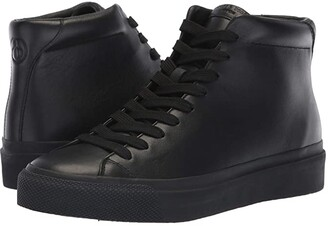 Rag & Bone RB1 High Top Sneakers (Black) Men's Lace up casual Shoes