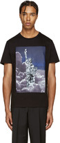Neil Barrett Black Liberty Presidents T-Shirt