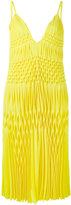 Haider Ackermann sleeveless smocked dress