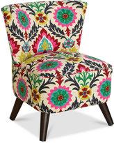 Grandview Desert Flower Accent Chair, Quick Ship
