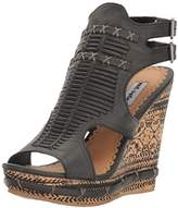 Not Rated Women's Meta Wedge Sandal,9.5 M US