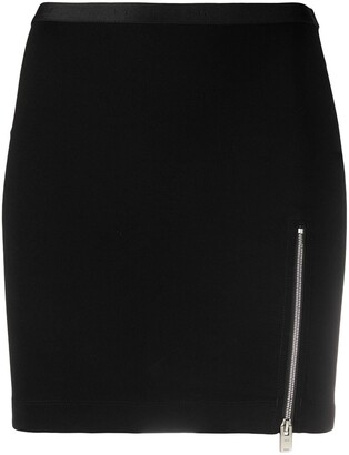 Alyx Front-Zip Mini Skirt