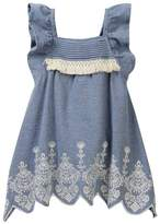 Jessica Simpson Embroidered Denim Tank Top (Little Girls)